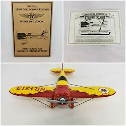 Wings Of Texaco 1930 Travel Air Model R Special 1998 Collectorand039s Edition