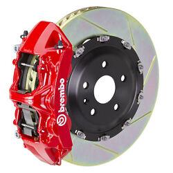 Brembo Gt Bbk For 09-16 A4 B8 | Front 6pot Red 1n2.9050a2