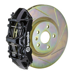 Brembo Gt Bbk For 05-14 Mustang V6 Excl. Non-abs | Front 6pot Black 1m5.8001a1