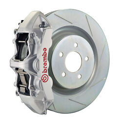 Brembo Gt Bbk For 16-19 Camaro Ss   Front 6pot Silver 1l5.8018a3