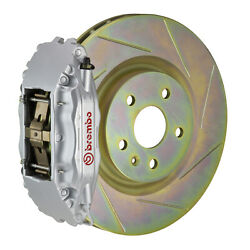 Brembo Gt Bbk For 05-14 Mustang Gt   Front 4pot Silver 1b5.8001a3