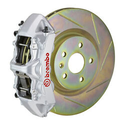 Brembo Gt Bbk For 05-14 Mustang V6 Excl. Non-abs | Front 6pot Silver 1m5.8001a3