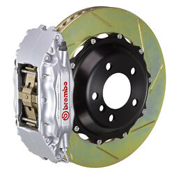Brembo Gt Bbk For 95-98 993 C2 / C4   Front 4pot Silver 1b2.8022a3