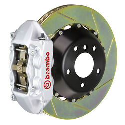 Brembo Bbk For 15-19 Wrx Excl. Models W/ Electronic Rear 4pot Silver 2p2.8042a3