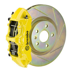 Brembo Gt Bbk For 05-14 Mustang V6 Excl. Non-abs | Front 6pot Yellow 1m5.8001a5