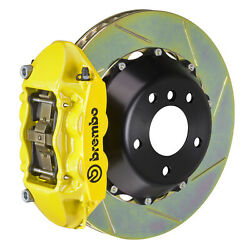 Brembo Gt Bbk For 95-98 993 C2 / C4   Rear 4pot Yellow 2p2.8019a5