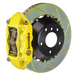 Brembo Gt Bbk For 95-98 993 C4s / Turbo   Rear 4pot Yellow 2p2.8019a5
