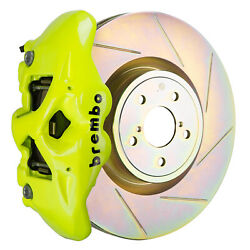 Brembo Bbk For 15-19 Wrx Excl. Models W/ Electronic Front 4pot Yellow 1s5.6002a7