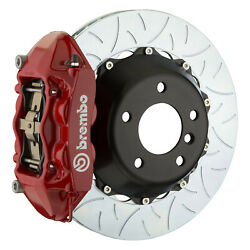 Brembo Gt Bbk For 95-98 993 C2 / C4   Rear 4pot Red 2p3.8019a2