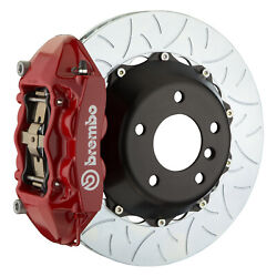 Brembo Gt Bbk For 95-98 993 C4s / Turbo   Rear 4pot Red 2p3.8019a2