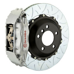 Brembo Gt Bbk For 95-98 993 C2 / C4   Front 4pot Silver 1b3.8022a3
