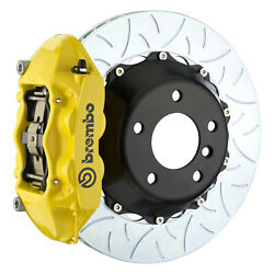 Brembo Gt Bbk For 95-98 993 C4s / Turbo   Rear 4pot Yellow 2p3.8019a5