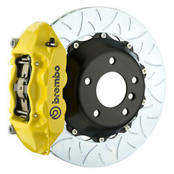 Brembo Gt Bbk For 95-98 993 C2 / C4   Rear 4pot Yellow 2p3.8019a5