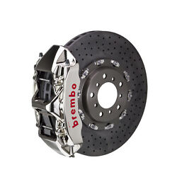 Brembo Ccmr Gt-r Bbk For 06-12 997 Turbo Excl. Pccb Front 6pot Nickel 1l9.9002ar