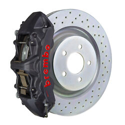Brembo Gt-s Bbk For 05-14 Mustang Gt | Front 6pot Hard Anodized 1m4.8001as