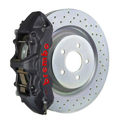 Brembo Gt-s Bbk For 05-14 Mustang V6 Front 6pot Hard Anodized 1m4.8001as
