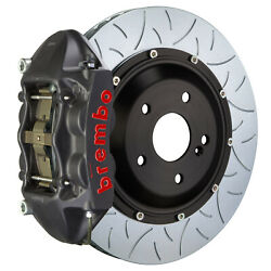 Brembo Gt-s Bbk For 15-19 Wrx Excl. Models W Rear 4pot Hard Anodized 2p3.8042as