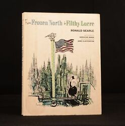 1964 Ronald Searle From Frozen North To Filthy Lucre Groucho Marx Jane Clapperto
