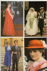 Postcards Royal Wedding 1981 Charles And Dianna Set Of 12 Collectors Reproductions