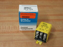 Potter And Brumfield Cuf-42-70120 Time Delay Relay Cuf4270120 Pack Of 3