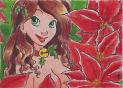 Holiday 2017 5finity Sketch Card By Tracy Bailey
