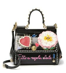 Designer Dolce & Gabbana (D&G) Leather Bag