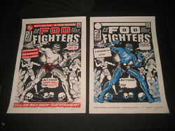 Foo Fighters Test Press Gig Poster Tour Concert Limited Edition Memorabilia