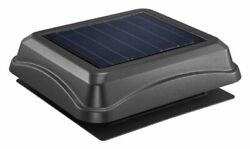 Broan-nutone 345sobk Black Roof Surface Mounted Solar Powered Attic
