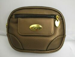Cool It Caddy Dark Bronze Small Cluch Good condition. Mirror inside is cracked $12.99