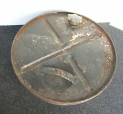 Big Volkswagen Reserve Tire Gas Jerry Can Thing Kdf Vw Bug Cox Vintage
