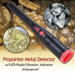 Metal Detector Pro Pointer Automatic Pinpointer Sensitive W Holster