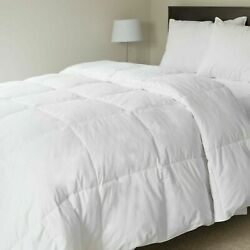 Lavish Home 100 Cotton Feather Down Bedding Comforter - Twin