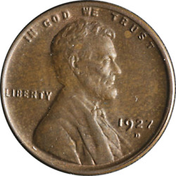 1927-d Lincoln Cent Great Deals From The Executive Coin Company - Bbsc20753
