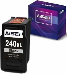 Aisen Remanufactured Ink Cartridges 240 For Canon Pg-240xl 240 Xl Used In Pixma