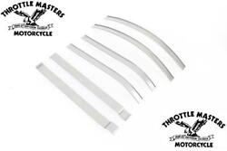 1940-and03946 Style Gas Tank Emblem Trim Mount Strips For Harley Fat Bob Tank Knuckle