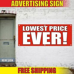 Lowest Price Banner Advertising Vinyl Sign Flag Best Sale Discount Offer Special