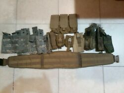 Molle Pouch Tactical Gear Variety Lot Coyote/tan/ucp/a-tacs/digital Flora