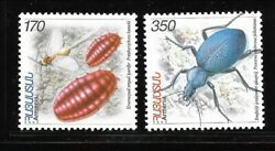 Armenia Sc 734-5 Nh Issue Of 2006 - Insects