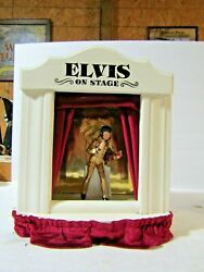 Mccormick Elvis On Stage Miniature Decanter And Stage With Red Curtains