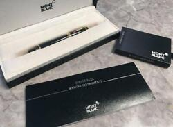 Fountain Pen Mont Blanc Japan Used Rare Collection Fountain Pen 800/mt