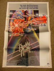 Buddy Holly Story 1978 Gary Busey Don Stroud 27x41 Poster N7604