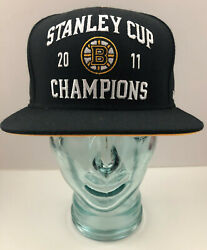 Boston Bruins 2011 Stanley Cup Champions Reebok Snapback Hat Cool Collectible