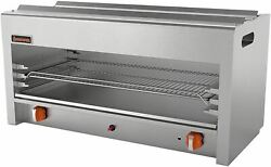 Mvp Group Srcm-36 Gas Cheese Melter 36 Grey