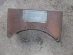 Mccormick Farmall F30 Ih Tractor Original Tool Box Holder And Serial Number Tag