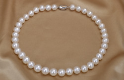 10-11mm 17/18/19/20inch Aaa Akoya Natural White Pearl Strand Necklace