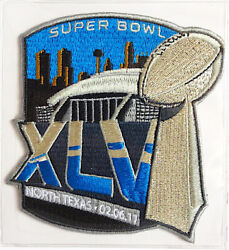 Super Bowl 45 Packers Vs Steelers Willabee And Ward Official Sb Xlv Nfl Patch Only