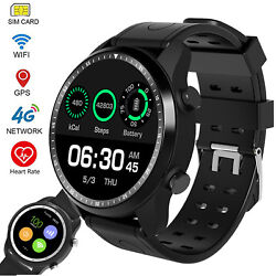 Large Touch Screen 4G Smart Watch Bluetooth Phone Wifi GPS for iPhone Samsung LG