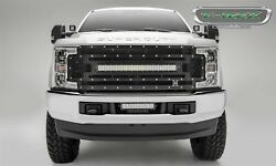For 2017-2018 Ford F-350 F-250 Super Duty T-rex Torch Series Led Light Grille