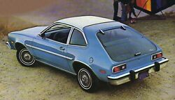 1978 Ford Pinto Rear Poster   24x36 Inch  