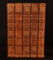 1768-69 9 Vols In 5 Itinerary Of John Leland The Antiquary Third Edition Illus